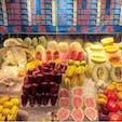 #士林夜市 #台北 #台湾 2018年12月  南国フルーツ天国🏝🥭 シュガーアップルとパイナップル購入!