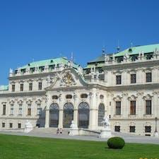 オーストリア/ベルベデーレ宮殿 ハプスブルク家って いろいろ作っているけど ここは結構好みでした。