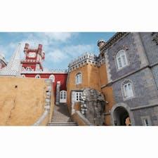 🏰 Palácio Nacional da Pena 色使いかわいい