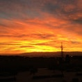 モンジュイックの丘、夕日