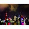 2019年9月8日 #上海 色や表情が変わって、ほんとに素晴らしい夜景 ☺︎