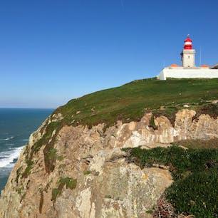 ポルトガルにあるユーラシア大陸最西端のロカ岬。
