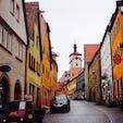 ドイツ ローテンブルク 絵本の中に迷い込んだような可愛い街でした