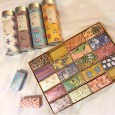 #嶢陽茶行 #台北 #台湾 2018年12月  パッケージに惹かれて台湾茶はここで購入! #阿里山烏龍 #桂花烏龍 #茉莉花茶 #玫瑰烏龍 🍵  同じく可愛すぎるパッケージは #大倉久和大飯店 の #ザ・ナイン のパイナップルケーキ🍍🍍