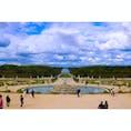 France/ベルサイユ宮殿 広すぎるお庭。