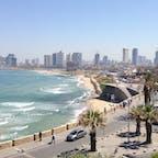 テルアビブの海岸沿い