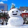 北海道 札幌 旧道庁前 雪祭りの時でしたが、会場に負けないくらい力が入ってました。