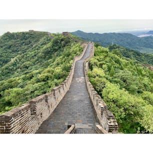 2019年9月10日 #北京 #慕田峪長城 歴史を感じる ☻ 中国ってすごいなぁ ☺︎