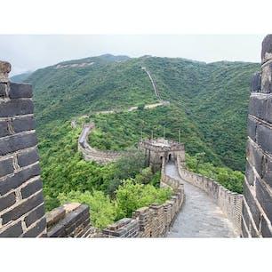 2019年9月10日 #北京 #慕田峪長城 また別のところから登りたいなぁ ☺︎