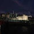夜遠目のロンドン塔