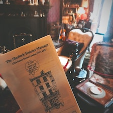 Baker Street 221B✨ The most famous detective is here🕵️♂️  #London