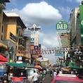 昼のカオサン通り(バンコク):タイ王国🇹🇭 年内にあと一回くらいは行きたいなぁ〜