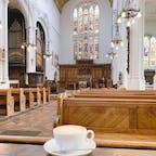 イギリス🇬🇧ロンドンのHost Café☕️ 教会内にあるCaféです #hostcafé#london#uk#england