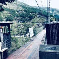 なかなか揺れる〜 谷瀬の吊橋@奈良