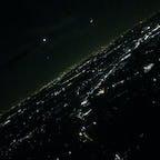 #Night view #Airplane #Narita International Airport