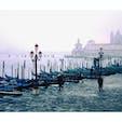 イタリア ベネチア アクア・アルタの影響で海水が少し上がっていました。