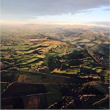 📍New Zealand 🇳🇿 熱気球からの景色✨  #NewZealand