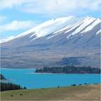 📍New Zealand 🇳🇿 まるで合成のような景色、圧倒されました。  #NewZealand