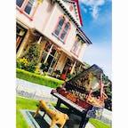 〈 ジァイアンツ ハウス 〉 素晴らしすぎる芸術HOME。 家の中やお庭もまだまだ色々な 芸術であふれかえっとる☺︎  #New Zealand # in Akaroa