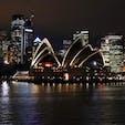 2019.10.08 🏕:オペラハウスの夜景(オーストラリア/シドニー) 📷:EOS kiss x9i