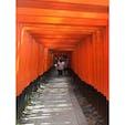 #伏見稲荷大社 #鳥居 #千本鳥居 #京都 #201508