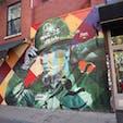 New York / Brooklyn Williamsburg ブラジルのグラフィティアーティスト、KOBRAの作品。