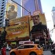 New York / Manhattan Times Square 11月映画公開『ターミネーター DARK FATE』のビルボード。