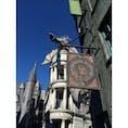 #グリンゴッツ魔法銀行 #ダイアゴン横丁 #ハリーポッター #当然火噴いてくる #ユニバーサルオーランドリゾート #201502