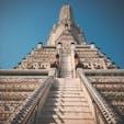 バンコクのワット・アルン(暁の寺)