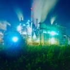 石巻の工場夜景です! #工場夜景
