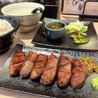 #牛たん若 #仙台 #宮城 2019年8月  オープン前から並んで限定食の霜降り牛たんを🙏🙏 感動の美味しさで私の中で閣に続くNo.2牛たんに認定🥺