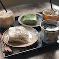 2019.10.27 新論峴にある【珈琲島】のアールグレイティラミス💓想像を遥かに超える美味しさでした😋🤤