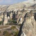 トルコ/カッパドキア/バシャバー 苦労して丘の上に登って撮りました。この奇景はやはり見応えがあります。 イスタンブールより。