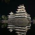 #長野県 松本城。朝も夜もとても美しい