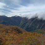 谷川岳のリフト乗り場からの眺め