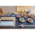 金沢のお洒落なお店、coil。細巻きづくり体験ランチ。九谷焼の豆皿に乗ってて素敵。  #金沢 #ランチ