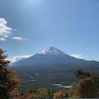 河口湖の近く、紅葉台からの富士山🗻  樹海とセットで360度見渡せます🍁