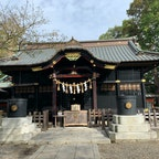 こじんまりまとまっている神社です。