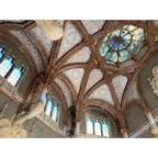 スペイン🇪🇸 サンパウ病院🏥 天井も床も壁もこだわりすぎ綺麗すぎ👏