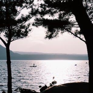 #西湖 #富士河口湖町 #山梨 2019年11月  今年最初で最後のキャンプ⛺️  台風での増水影響でテントスペース激減😣😣 急遽バンガローキャンプになったけど良かった!
