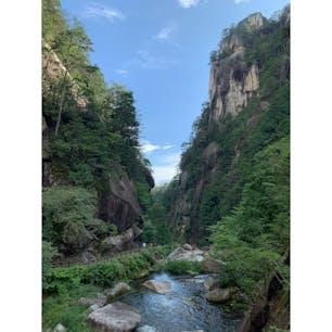 昇仙峡の景色。