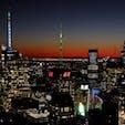 New York / Manhattan ロックフェラーセンター ロックフェラーセンター展望台からの眺め。