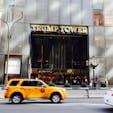 New York / Manhattan Trump Tower 写真撮影のために訪れる観光客が絶えない「トランプタワー」。