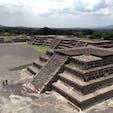 メキシコのテオティワカン遺跡 3.
