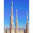 イタリア ミラノ ドゥオーモ屋上