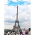 フランス🇫🇷 エッフェル塔がよく見えるフォトスポット📷 #フランス #パリ #エッフェル塔