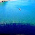 山口県 錦川 錦帯橋の影