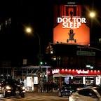 New York / Manhattan Canal Street 全世界を震撼させた伝説の映画『シャイニング』の続編映画『Doctor Sleep』のビルボード。楽しみです♪