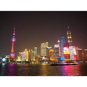 上海外灘からの夜景
