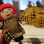 New York / Manhattan ニューヨーク近代美術館 「MoMA」のミュージアムストアでは、草間彌生さんの人形や、Pumpkinキーホルダーやバッグなど大人気!